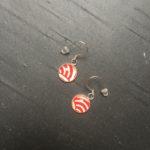 boucle d'oreille cabochon