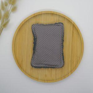Eponge lavable GM coton biologique GOTS Ambre