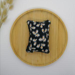 Eponge lavable PM coton biologique GOTS Iris