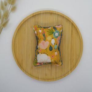 Eponge lavable PM coton biologique GOTS Lilia