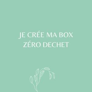 Box zéro déchet